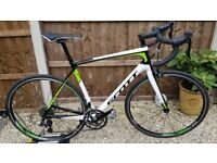 Scott Solace 30 carbon 56cm road bike in mint condition.