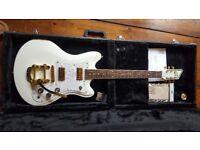 Custom 77 - Lust 4 Life, Montana's Fate Guitar with Bigsby & TV Jones Pickups