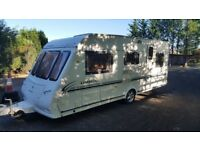 Compass Omega 505 2003, 5 berth caravan in excellent condition.