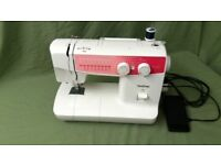 Brother Electric Sewing machine XL 5022 in excellent condition. Fully overhauled