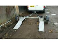 INTERTRADE COLLAPSIBLE TOW DOLLY BRAKES STERRING EXCELLENT, BIT OF KIT