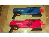 Nerf rival guns