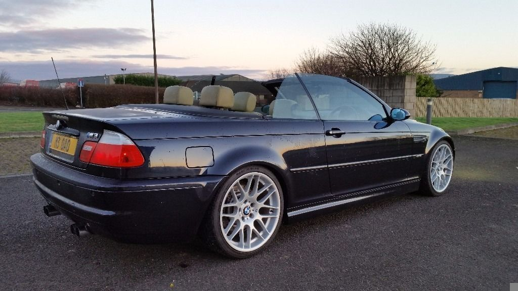 2002 bmw m3 smg convertible carbon black 100 000 miles. Black Bedroom Furniture Sets. Home Design Ideas