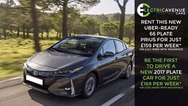 NEW BODY 2017 TOYOTA FROM £220 / PCO CAR HIRE/ PCO CAR RENTAL/UBER READY