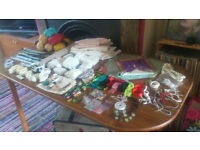 Bits & pieces for sewing/ haberdashery/ knitting/ crochet/ crafts