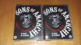 Sons of Anarachy Box Set DVD
