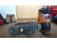 AKU Montagnard GTX Gore-Tex® Mountaineering Boots - Full Auto Crampon compatibile - Size UK8/EUR42