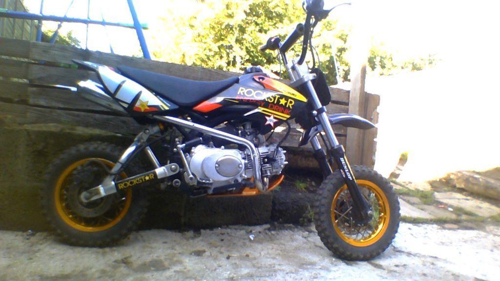 110cc Rockstar Pit Bike In Whitehill Hampshire Gumtree