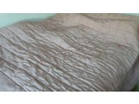 Laura Ashely home Pink bedthrow