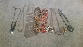 Lovely selection of necklaces
