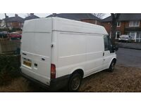 2004 Ford Transit High top *12 mths M.o.T ready for work.. tidy