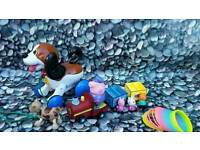 @#* check out my other toys listed* Peppa pig train, Tomy interactive puppy toy bundle