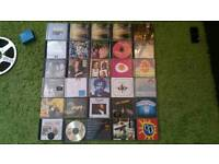 Over 30 original CDs: Cafe del Mar, Simply Red, Pavarotti, Blues, rock... and more