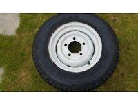 defender steel wheels genuine landrover five of 205 80 16 michellin tyres