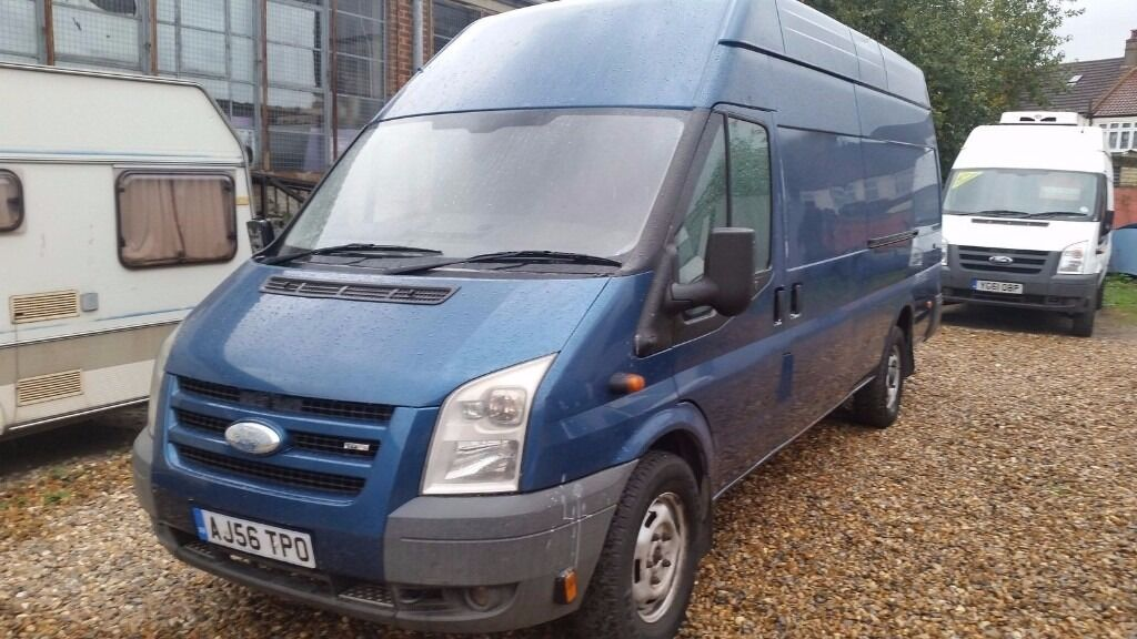 2007 FORD TRANSIT 100 T350EF RWD XLWB JUMBO - SPARES OR REPAIR ( ENGINE NOISE )