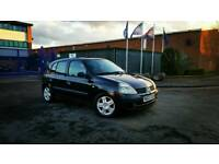 2003 Renault Clio 1.4 Expression 5 Door Black Long MOT Cheap Corsa Megane Saxo Focus Astra 206 106