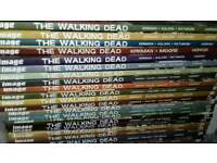 The walking dead comic volume 1 to 21