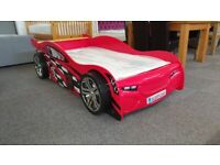 Scorpion Racer Bed in Red & Budget Single Matt Can Deliver