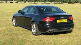 Audi A4 2.0 tdi sline 2009 170bhp 11 months mot 158k with full service history hpi clear £4675 ovno