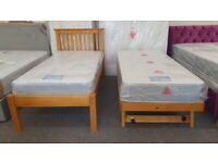 Julian Bowen Barcelona Pine Hideaway bed mattress sold separately Can Deliver