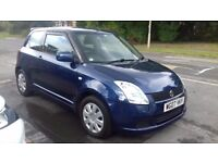 Suzuki swift 2007 blue 1.3