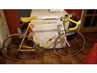 Raleigh Falcon (team banana) vintage road racing bike