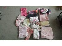 baby girls clothes bundle for 3 to 6 months