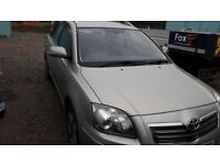 Toyota avensis t180 d-cat 2.2 2007 low miles