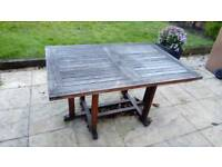 teak outdoor table - Garden Furniture Kings Lynn