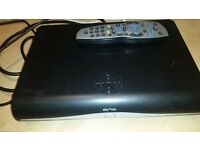 Sky satelite HD box with remote control.