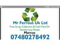 Mr Ferrous Uk Ltd ( Free Scrap metal Collections )