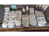 Cloth nappies, pull-ups, nappy covers