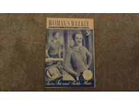 Womans Weekly Vintage Magazine - August 15th 1953. A special year for someone.