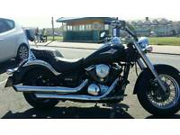 Kawasaki vulcan 900 b7f classic black good condition