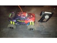 RC NITRO 1:10 SCALE MONSTER TRUCK THAT HAS BEEN TESTED AND TUNED BY US NEW PULL START FITTED