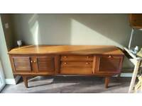 Solid wood teak side board