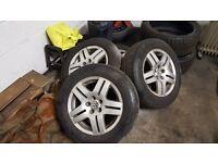 MK4 Golf Alloy wheels+Tyres