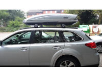 Car roof box & bar hire in the Derby, Birmingham, West Midlands, delivery/collect service available