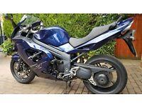 TRIUMPH SPRINT ST 1050cc ABS 2008 MOT AUG 2017 19k mls BLUE