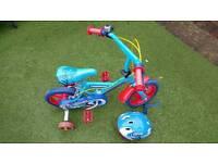 Thomas and friends bike and helmet