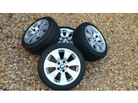 Winter Tyres and BMW alloy wheels