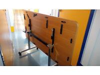 3x folding tables