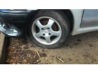 15 inch 108 pcd ford / peugeot wheels