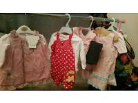 Over 80 items baby girl clothing