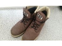 size 11 mens CAT boots