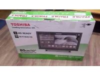 "Toshiba 32"" 1080p Full HD Freeview Smart Wifi LED TV BRAND NEW!! £170"