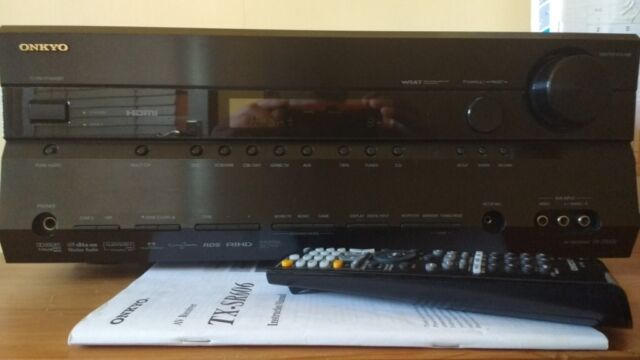 AV-RECEIVER ONKYO TX-SR606 HDMI 7X140 WATTS PER CHANNEL WITH ORIGINAL  REMONTE AND MANUAL   in Greenwich, London   Gumtree