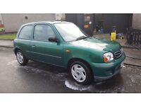 Nissan Micra 1.0ltr Automatic