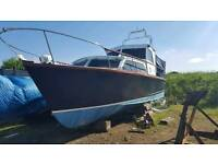 Cleopatra 30ft cabin cruiser.refurbished