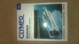 clymer mariner outboard engine workshop manual 2-220 hp 1976-1989
